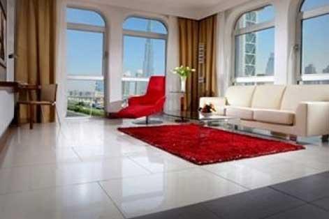 Dubai, Villa Rotana hotel